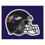 Baltimore Ravens Tufted Area Rug