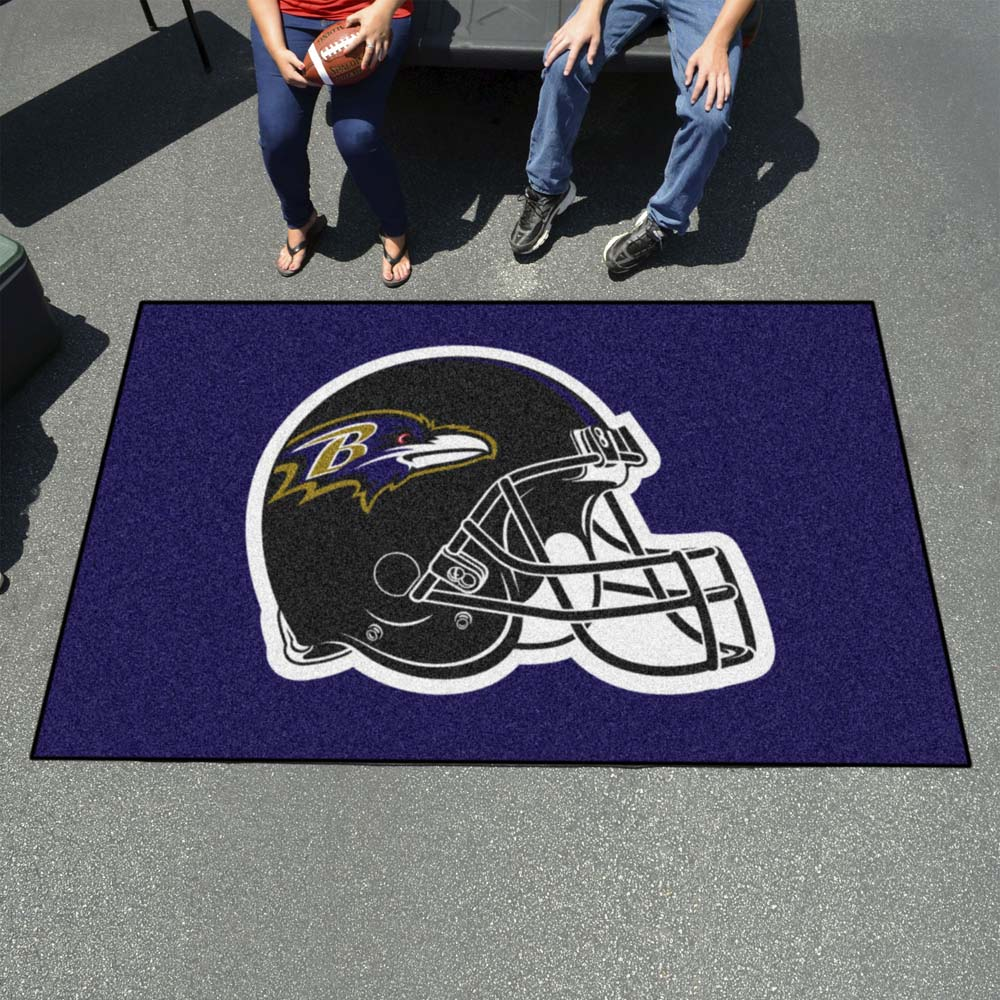 Baltimore Ravens Tufted Area Rug Ultimat Rug