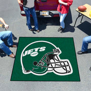 New York Jets Tufted Area Rug Tailgater Rug