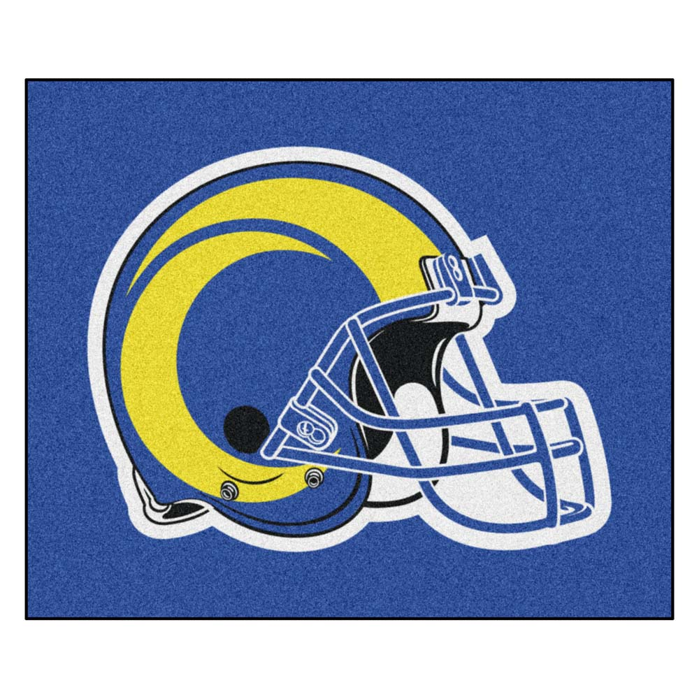 Los Angeles Rams Blue Tufted Area Rug