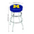 Michigan Wolverines Game Room Stool