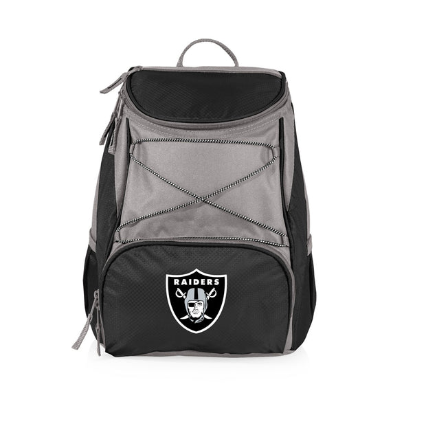 Oakland Raiders PTX Backpack Cooler Tote in Black