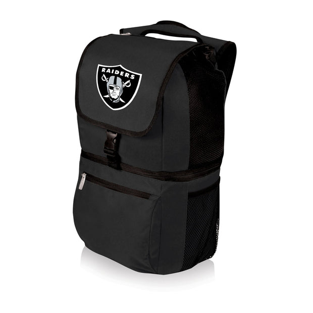 Oakland Raiders Zuma Backpack Cooler in Black