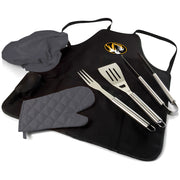 Missouri Tigers BBQ Apron, Grill Tools & Tote in Black