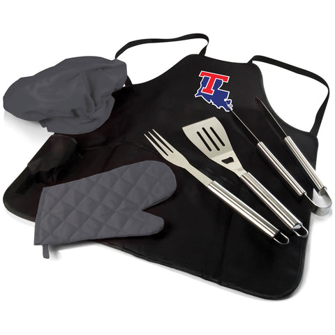 Louisiana Tech Bulldogs BBQ Apron, Grill Tools & Tote