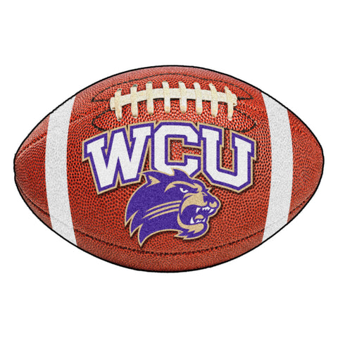 Western Carolina Catamounts Touchdown Football Area Rug