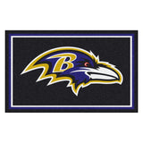 Baltimore Ravens Ultra Plush Area Rug