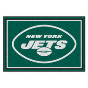 New York Jets Ultra Plush Area Rug 5x8