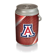 Arizona Wildcats Mega Can Cooler with Ball Leather Graphics - Team Sports Gift