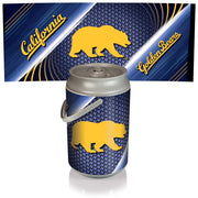 Cal Golden Bears Mega Can Cooler with Ball Leather Graphics