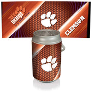 Clemson Tigers Mega Can Cooler with Ball Leather Graphics - Team Sports Gift