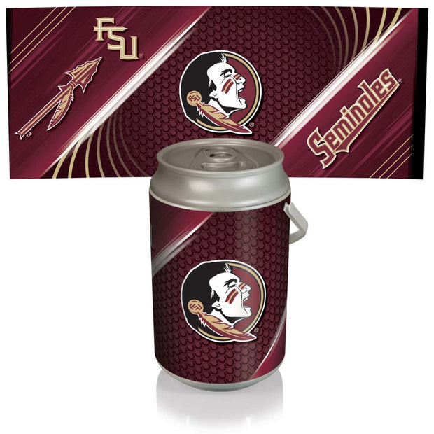 Florida State Seminoles Mega Can Cooler with Ball Leather Graphics