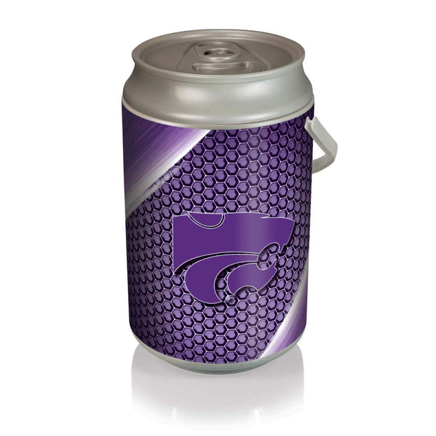 Kansas State Wildcats Mega Can Cooler with Ball Leather Graphics