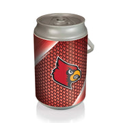 Louisville Cardinals Mega Can Cooler with Ball Leather Graphics - Team Sports Gift