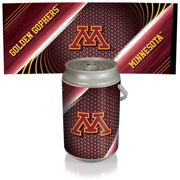 Minnesota Golden Gophers Mega Can Cooler with Ball Leather Graphics