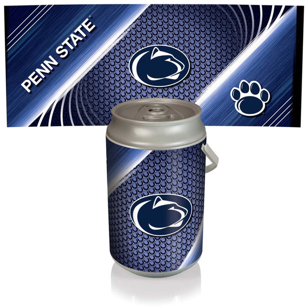 Penn State Nittany Lions Mega Can Cooler with Ball Leather Graphics