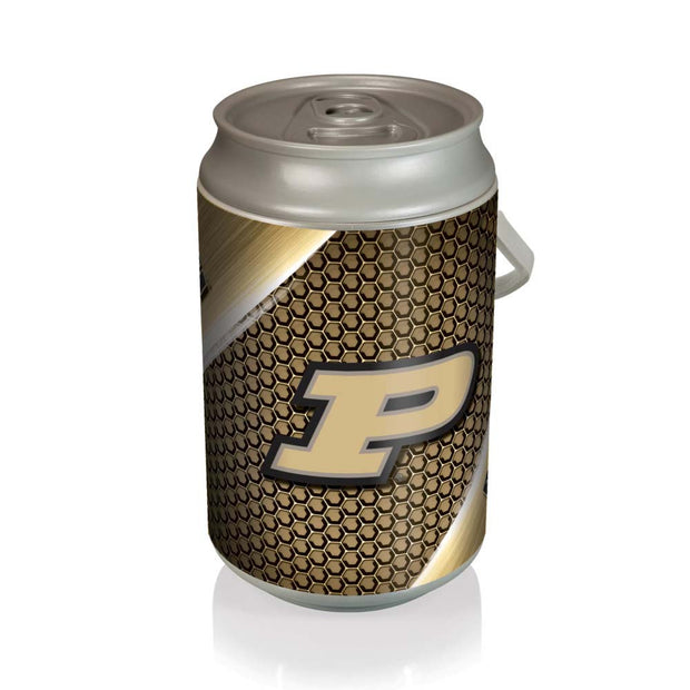 Purdue Boilermakers Mega Can Cooler with Ball Leather Graphics