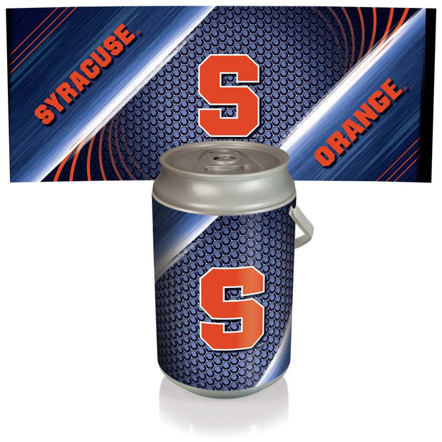 Syracuse Orange Mega Can Cooler with Ball Leather Graphics - Team Sports Gift
