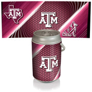 Texas A&M Aggies Mega Can Cooler with Ball Leather Graphics