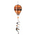 Oklahoma State Cowboys Hot Air Balloon Wind Spinner - Team Sports Gift