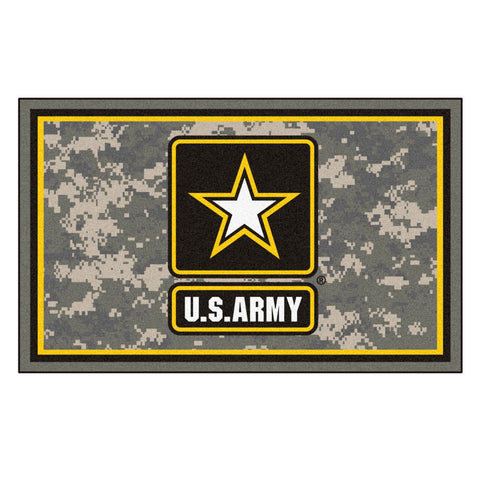 Army Black Knights Ultra Plush Area Rug