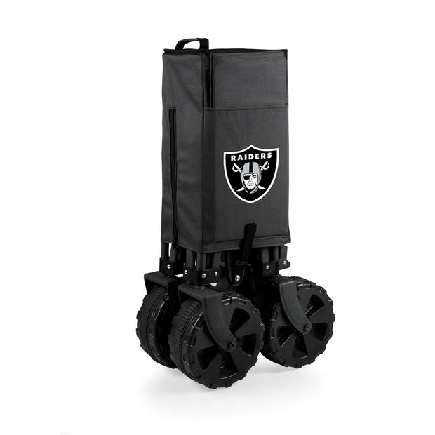 Elite Oakland Raiders Wagon, Table & Cooler Closed