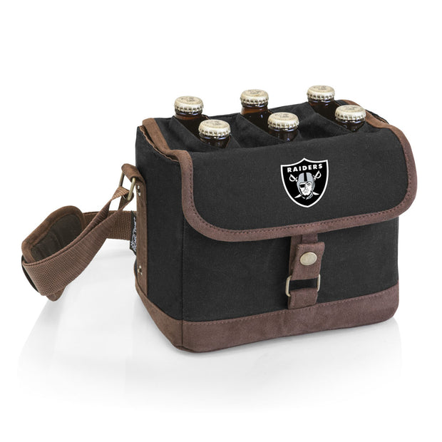Oakland Raiders Six Pack Tote and Bottle Opener