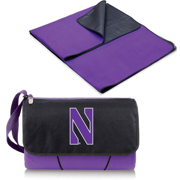 Northwestern Wildcats Picnic Blanket Tote