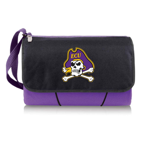 East Carolina Pirates Picnic Blanket Tote in Purple