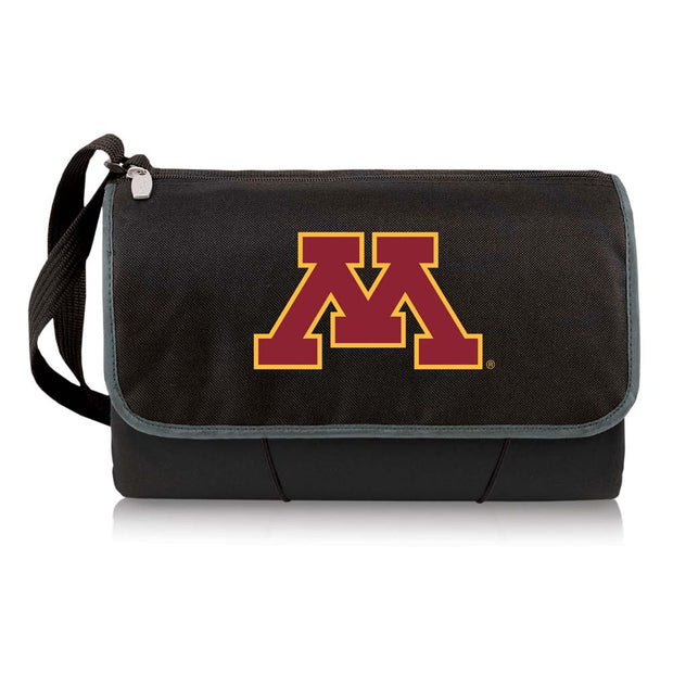 Minnesota Golden Gophers Picnic Blanket Tote in Black