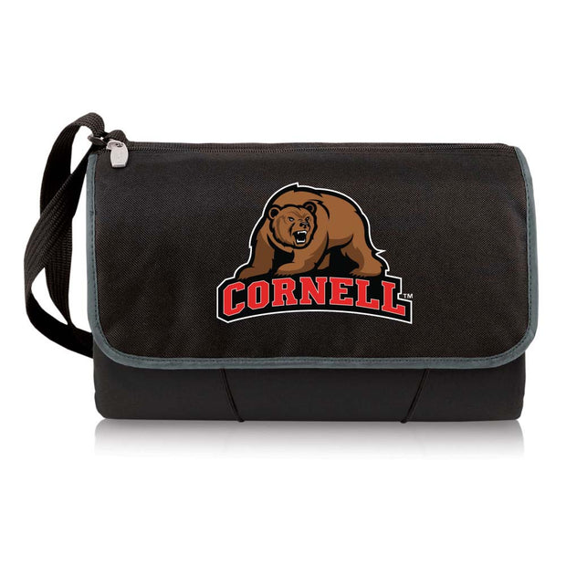 Cornell Big Red Picnic Blanket Tote in Black