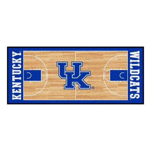Kentucky Wildcats Basketball Court Runner Rug