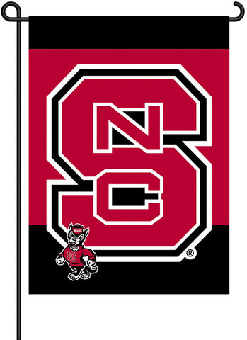 NC State Wolfpack 2-Sided Garden Flag