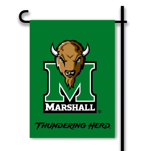 Marshall Thundering Herd 2-Sided Garden Flag