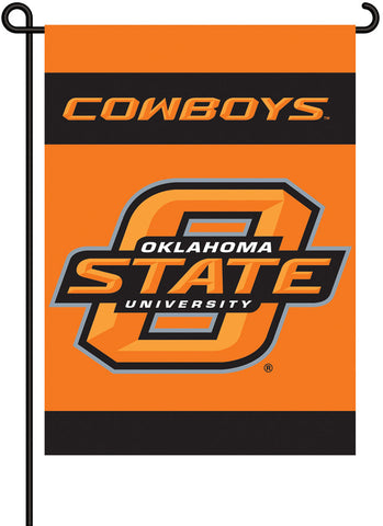 Oklahoma State Cowboys 2-Sided Garden Flag