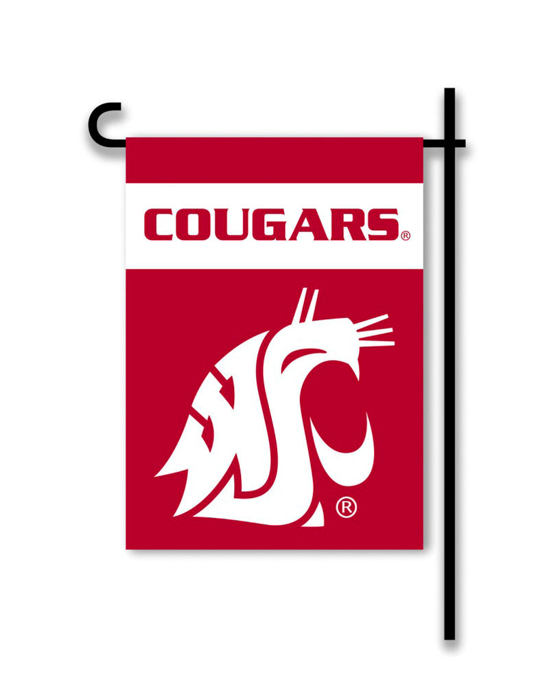 Washington State Cougars 2-Sided Garden Flag