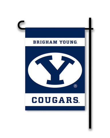 BYU Cougars 2-Sided Garden Flag