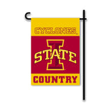 Iowa State Cyclones 2-Sided Country Garden Flag