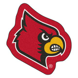 Louisville Cardinals Team Logo Accent Rug