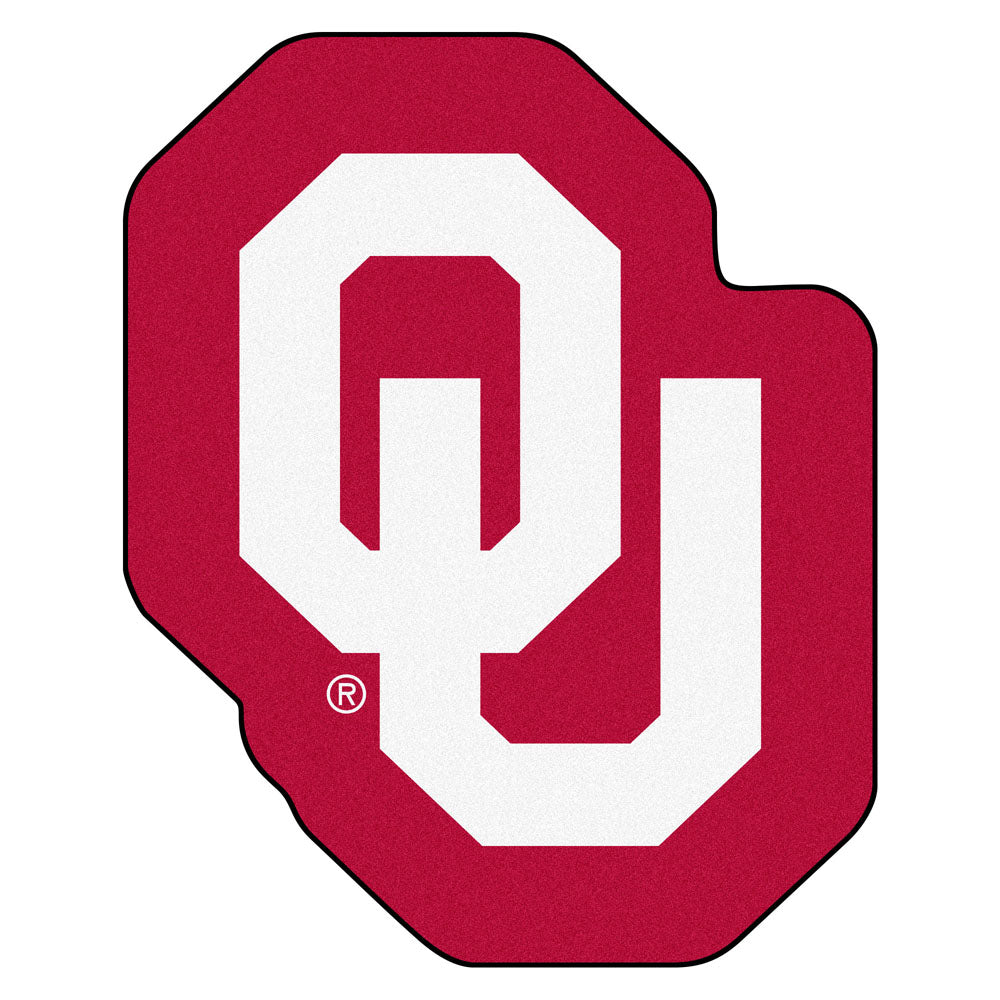 Oklahoma Sooners Team Logo Accent Rug