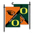 Oregon Ducks vs Oregon State Beavers House Divided Garden Flag - Team Sports Gift