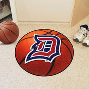 Duquesne Dukes Basketball Area Rug in Room