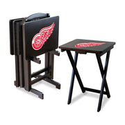 Detroit Red Wings Folding TV Tray Tables