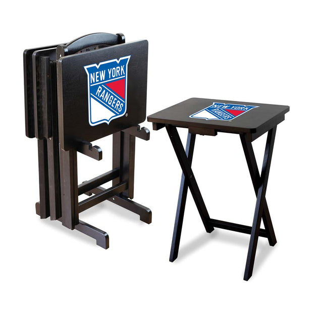 New York Rangers Folding TV Tray Tables