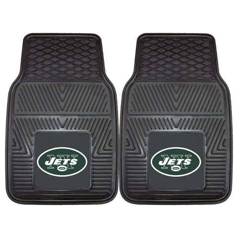 Heavy Duty Vinyl New York Jets Floor Mats
