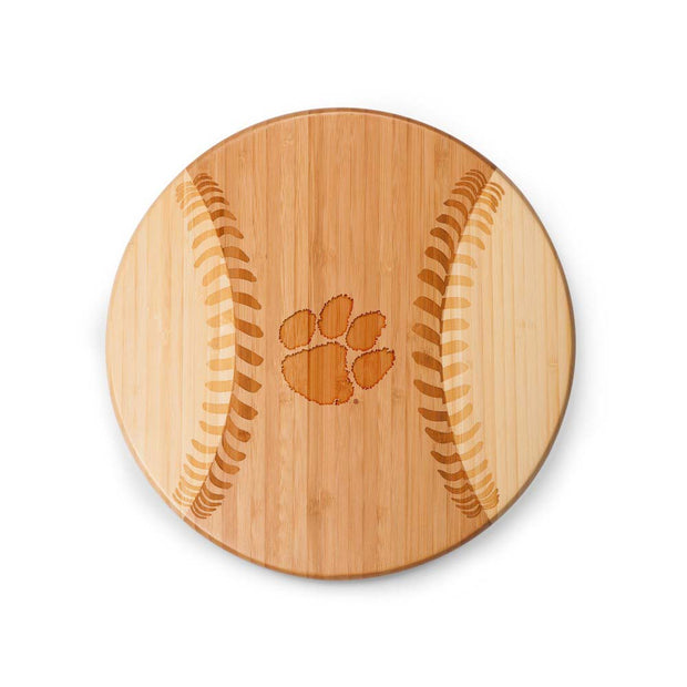 Clemson Tigers Home Run! Baseball Cutting Board