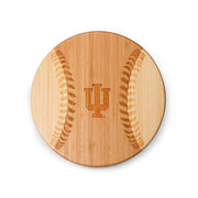 Indiana Hoosiers Home Run! Baseball Cutting Board