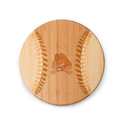 East Carolina Pirates Home Run! Baseball Cutting Board