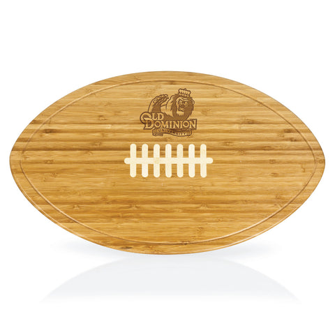 Old Dominion Monarchs Kickoff Football Shaped Carving Board