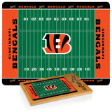 Cincinnati Bengals Football Field Glass Top Cutting Board